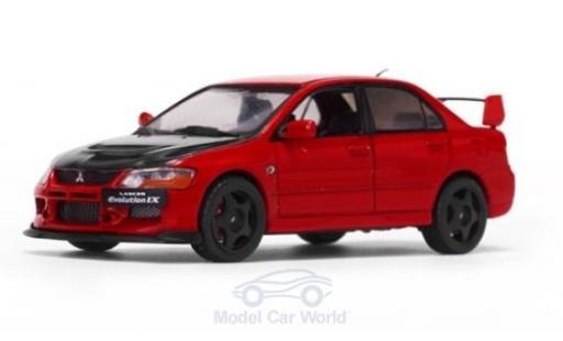 Mitsubishi Lancer Evolution IX 1/43 Vitesse rouge/noire miniature