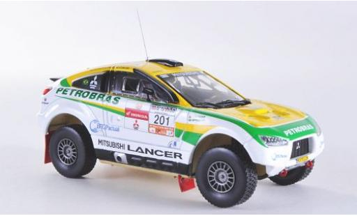 Mitsubishi Racing Lancer 1/43 Vitesse No.201 Rally dos Sertoes 2012 G.Spinelli/H.Youssef miniature