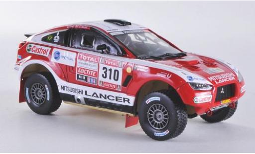 Mitsubishi Racing Lancer 1/43 Vitesse No.310 Rallye Dakar 2012 G.Spinelli/H.Youssef miniature