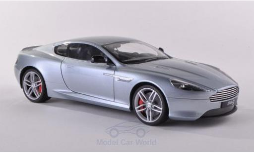 Aston Martin DB9 1/18 Welly Coupe grise miniature
