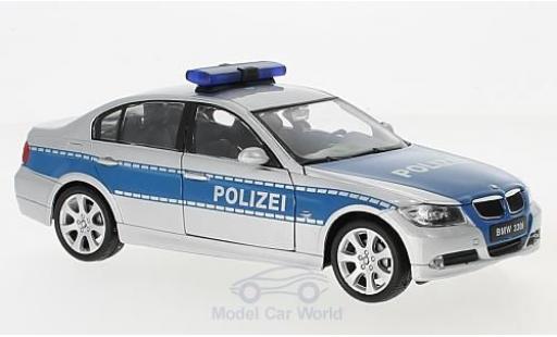 Bmw 330 1/24 Welly BMW I Polizei diecast