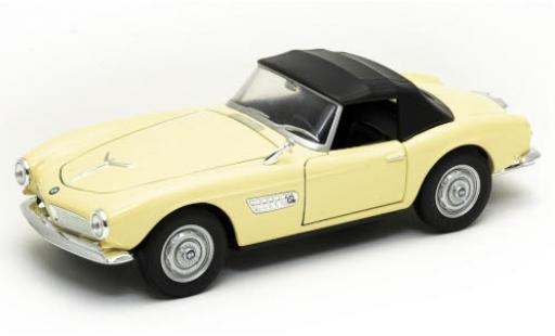 Bmw 507 1/24 Welly beige Verdeck fermé miniature