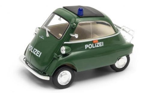 Bmw Isetta 1/18 Welly 250 Polizei miniature