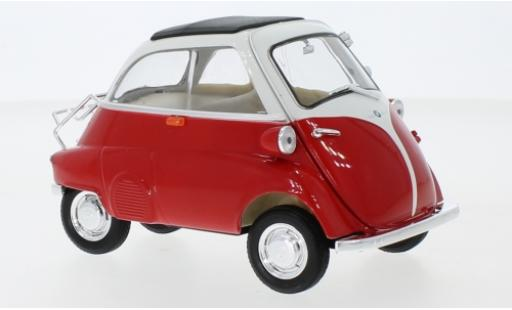 Bmw Isetta 1/18 Welly 250 rouge/blanche