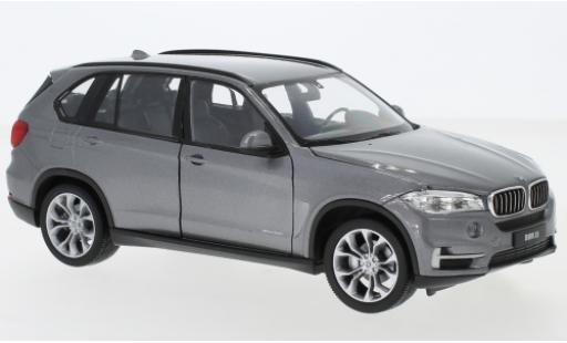 Bmw X5 1/24 Welly (F15) metallise grise miniature