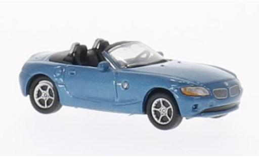 Bmw Z4 1/87 Welly blue diecast model cars