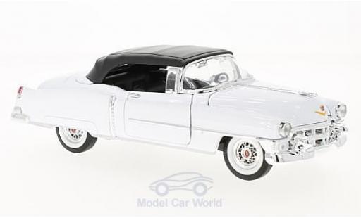 Cadillac Eldorado 1/24 Welly blanche/noire miniature