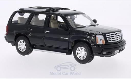 Cadillac Escalade 1/24 Welly noire 2002 miniature
