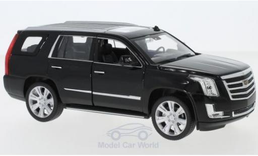 Cadillac Escalade 1/24 Welly noire 2017 miniature