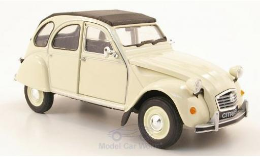 Citroen 2CV 1/24 Welly beige ohne Vitrine miniature