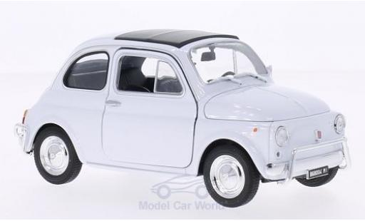 Fiat 500 1/24 Welly white
