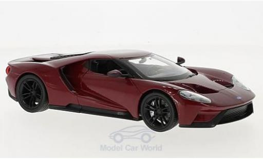 Ford GT 1/24 Welly rouge 2017 miniature