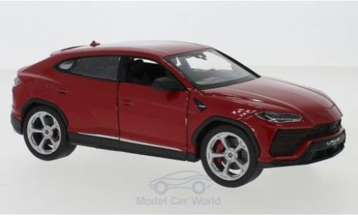 Lamborghini Urus 1/24 Welly red diecast model cars