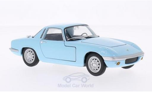 Lotus Elan 1/24 Welly bleue 1965 miniature