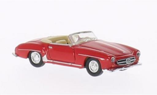 Mercedes 190 1/87 Welly SL rouge 1955 miniature