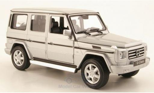 Mercedes Classe G 1/24 Welly grise ohne Vitrine miniature