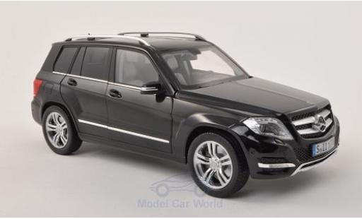 Mercedes Classe GLK 1/18 Welly nero 2013 GTA Edition ohne Vitrine miniatura