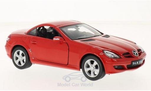 Mercedes Classe SLK 1/24 Welly SLK 350 rouge miniature