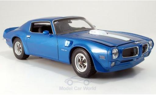 Pontiac Firebird 1/18 Welly Trans Am bleue 1972 miniature