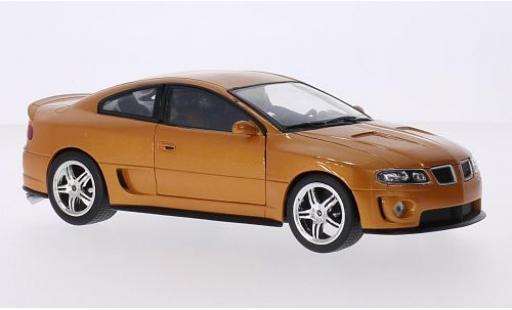 Pontiac GTO 1/24 Welly Ram Air 6 gold miniature