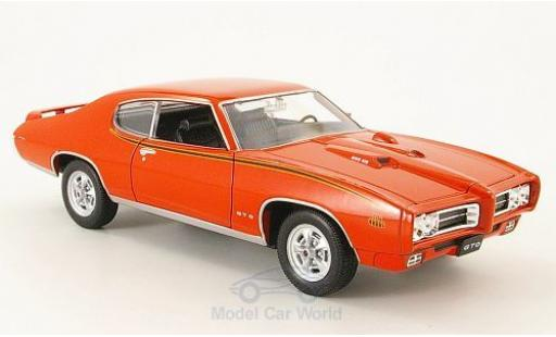 Pontiac GTO 1/24 Welly The Judge 1969 ohne Vitrine diecast
