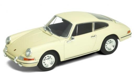 Porsche 911 1/24 Welly beige 1964 diecast model cars