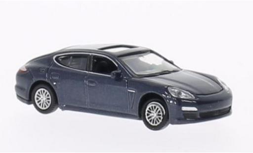 Porsche Panamera S 1/87 Welly metallise blue diecast model cars
