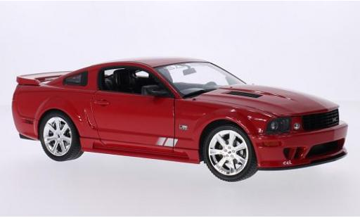 Saleen S281 1/18 Welly E Mustang rouge 2007 miniature