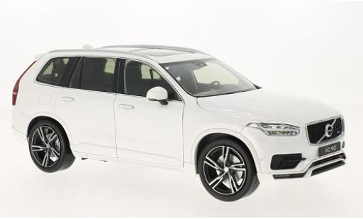 Volvo XC 1/18 Welly 90 blanche 2015 miniature