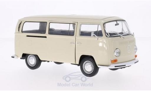 Volkswagen T2 B 1/24 Welly us beige 1972 diecast model cars