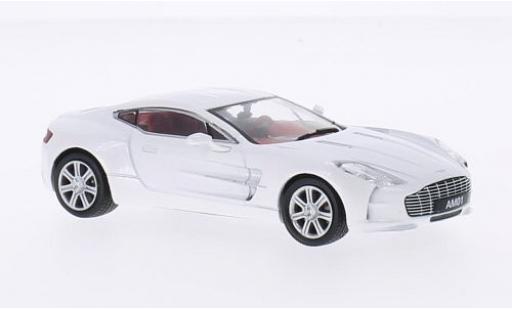 Aston Martin One-77 1/43 WhiteBox metallise white 2010