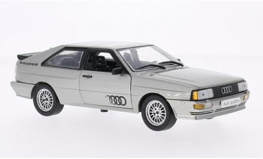 Audi Quattro 1/24 WhiteBox grise 1986 miniature