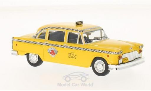 Checker Marathon 1/43 WhiteBox New York 1963 Taxi miniature