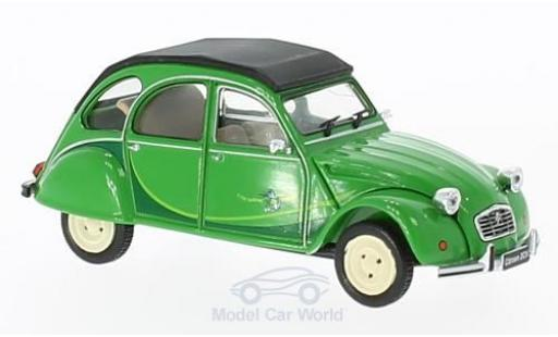 Citroen 2CV 1/43 WhiteBox grün I fly bleifrei 1986 diecast