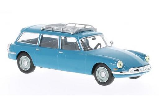 Citroen ID 19 1/43 WhiteBox Break bleue 1960 miniature