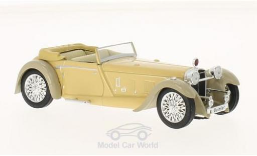 Daimler Double Six 1/43 WhiteBox 50 Convertible beige/grise RHD 1931 miniature