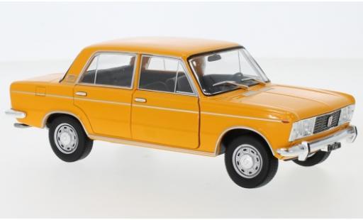 Fiat 125 1/24 WhiteBox orange miniature