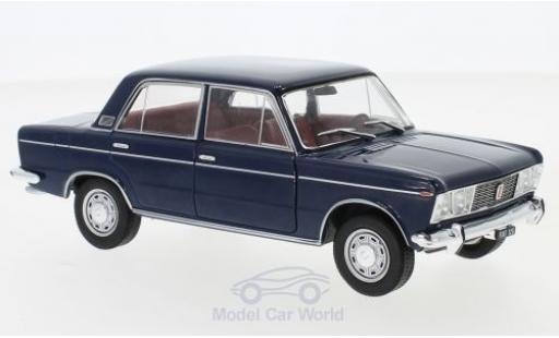 Fiat 125 1/24 WhiteBox Special bleue 1970 miniature