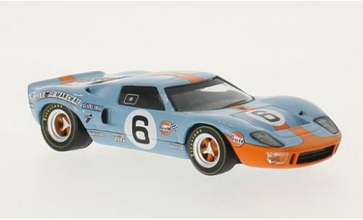 Ford GT40 1/43 WhiteBox RHD No.6 John Wyer A.E. Gulf 24h Le Mans 1969 J.Ickx/J.Oliver miniature