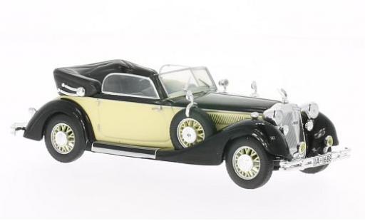 Horch 853 1/43 WhiteBox A noire/beige 1938 miniature