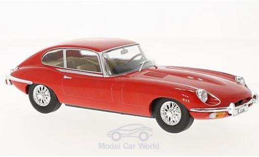 Jaguar E-Type 1/24 WhiteBox red 1962 diecast model cars