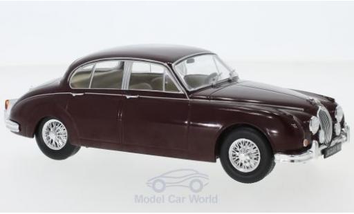 Jaguar MK 1/24 WhiteBox II rouge 1960 miniature