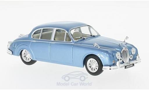 Jaguar MK 9 1/43 WhiteBox II metallise bleue RHD 160 miniature