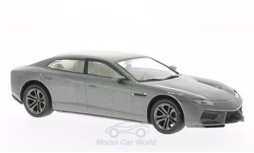 Lamborghini Estoque 1/43 WhiteBox metallic-grey 2008 diecast