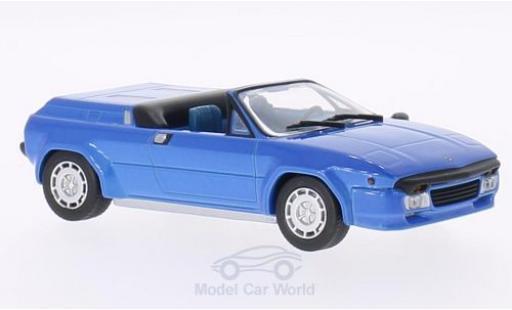 Lamborghini Jalpa 1/43 WhiteBox Spyder Predotipo metallic blue 1987 diecast