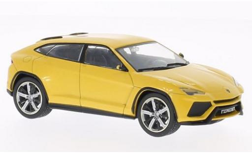 Lamborghini Urus 1/43 WhiteBox metallise giallo 2012 modellino in miniatura
