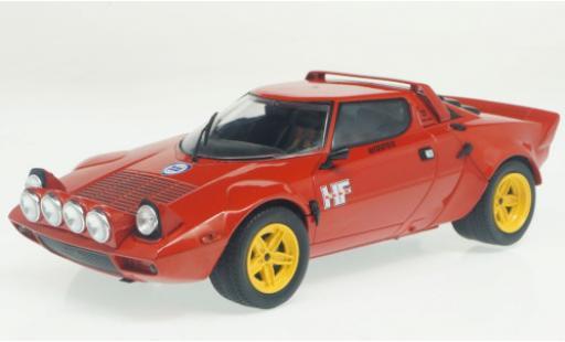 Lancia Stratos 1/24 WhiteBox HF rouge 1975 miniature