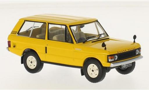 Land Rover Range Rover 1/43 WhiteBox 3.5 jaune RHD 1970 miniature