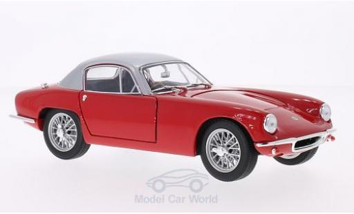 Lotus Elite 1/18 WhiteBox rouge/grise RHD 1960 miniature