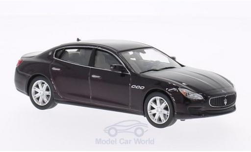 Maserati Quattroporte 1/43 WhiteBox GTS metallise rouge 2013
